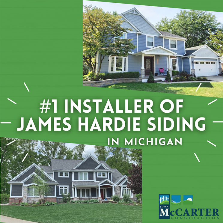 James Hardie #1 Installer In Michigan